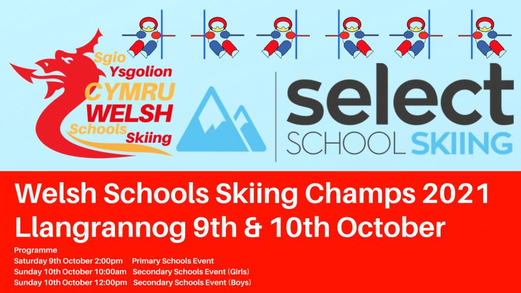 Welsh Schools Skiing Events graphic